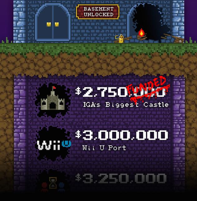 Bloodstained llegará a Wii U si consigue la meta de 3 millones en Kickstarter
