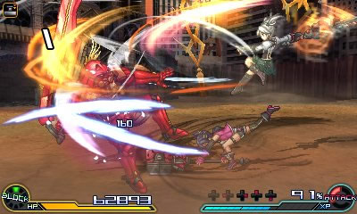 project x zone 2 gameplay 10