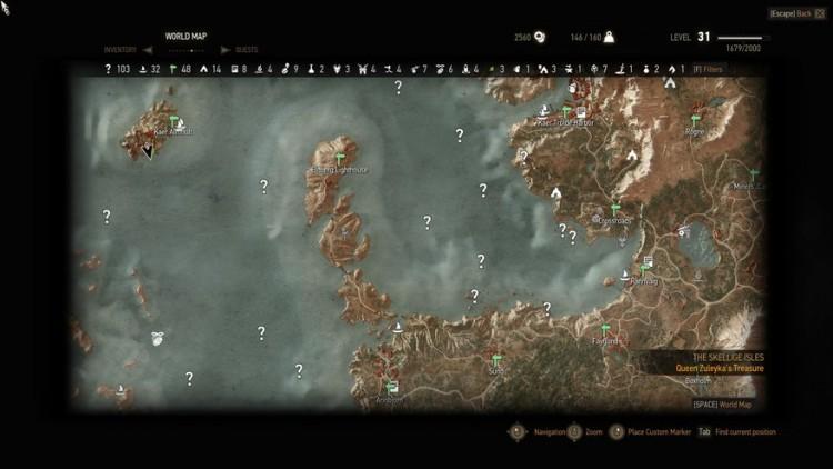 mapa witcher