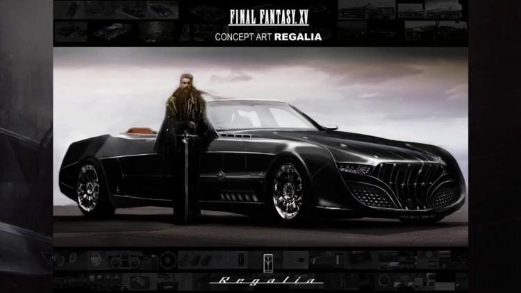 FF XV regalia concept