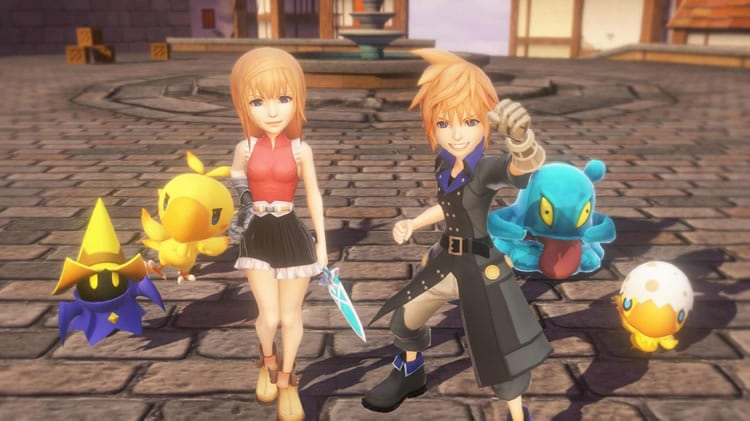 world of final fantasy 2