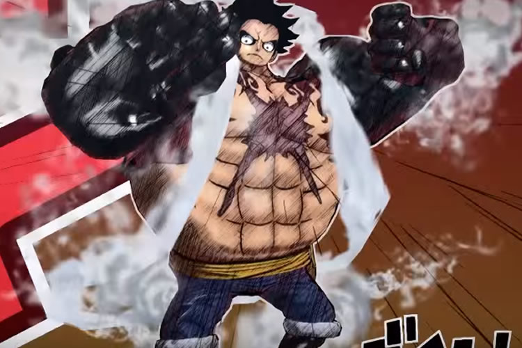 one piece burning bloog gear forth
