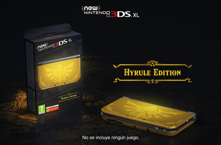 3ds hyrule edition
