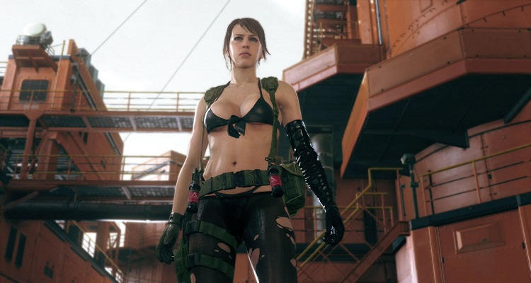 Metal Gear Online DLC Cloaked in Silence Quiet