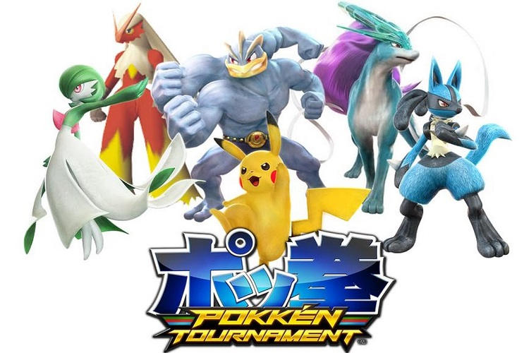 Pokken Tournament competición