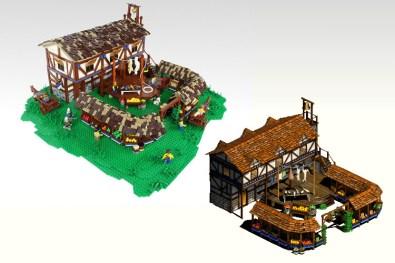 age of empires LEGO mercado
