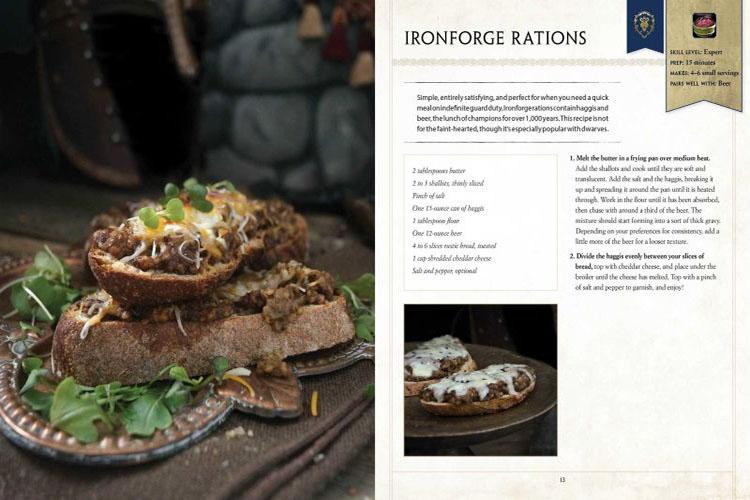 World of Warcraft tendrá su propio libro de recetas de cocina