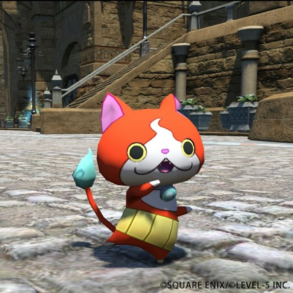 final fantasy xiv yo kai watch 3 jibanyan