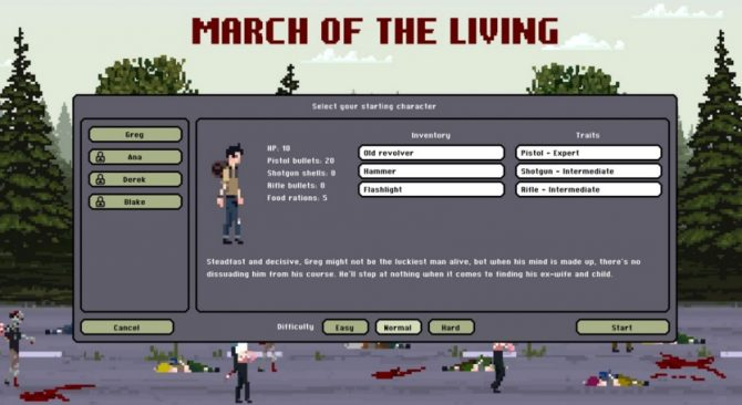 march of the living analisis pc