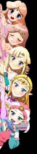 zelda anime todas