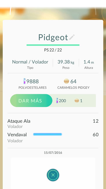pokemon go ataques