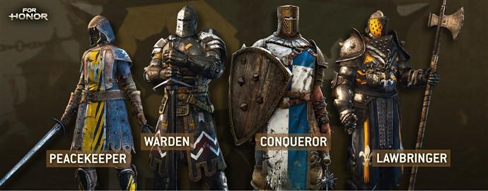 for honor alfa personajes modos