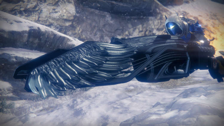 Destiny: los Señores de Hierro Easter Egg del Gjallarwing de Hierro