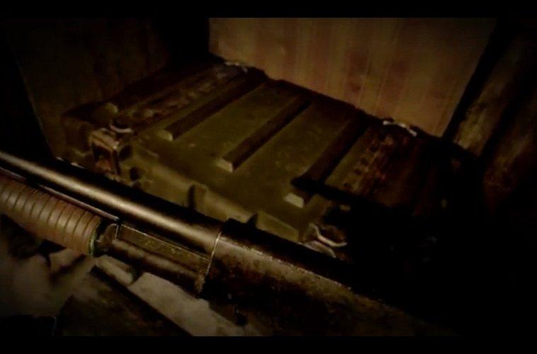 Resident Evil VII escopeta