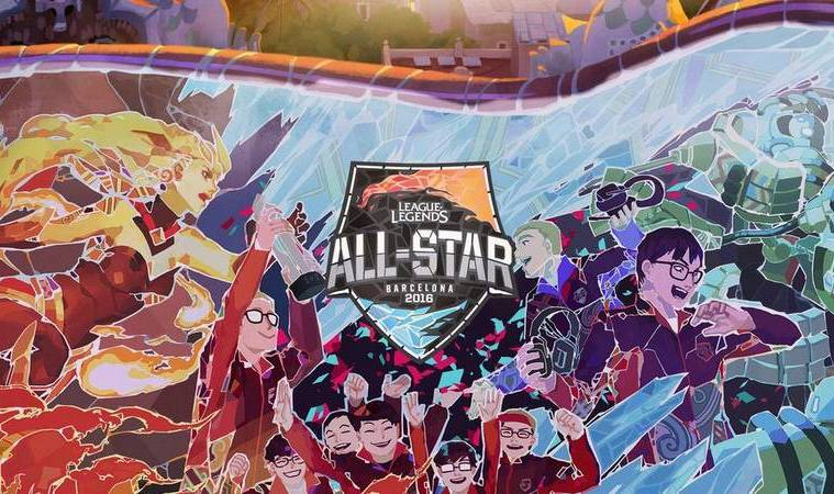 Roster All-Star League of Legends