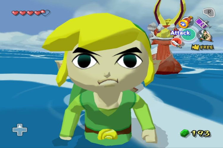 Zelda posible secuela de Wind Waker