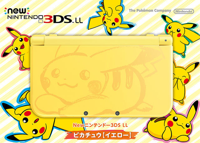 New Nintendo 3DS XL modelo Pikachu