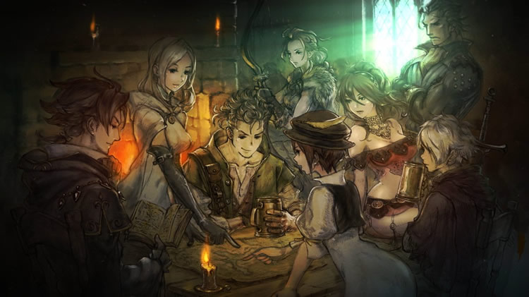 project octopath traveler 4