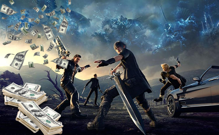 final fantasy 15 ventas beneficios