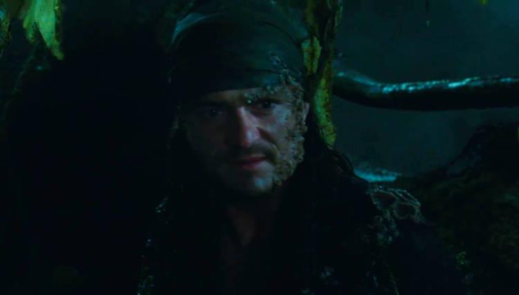 primer vistazo will turner piratas del caribe