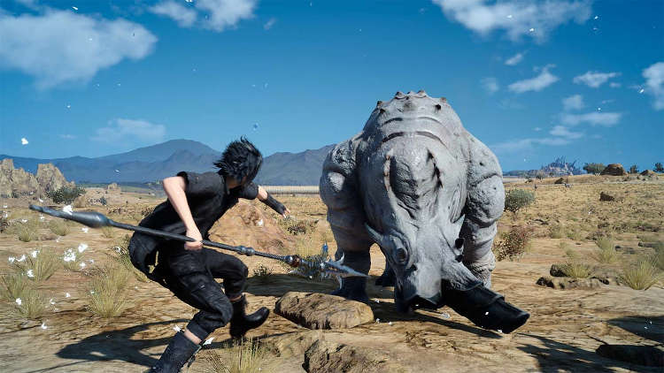 "La actualización de Final Fantasy XV trae un ""modo estable"" a PS4 Pro"