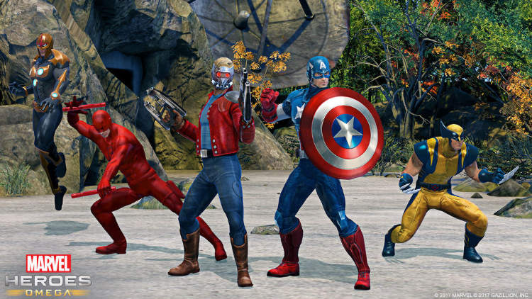 lanzamiento de marvel heroes omega para ps4