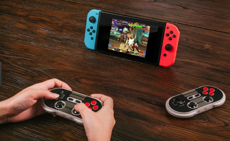 Cómo conectar los mandos 8Bitdo en Nintendo Switch