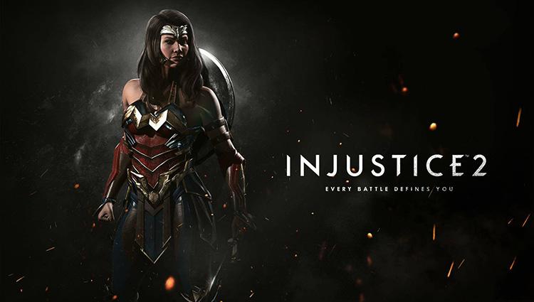 evento de Wonder Woman en Injustice 2