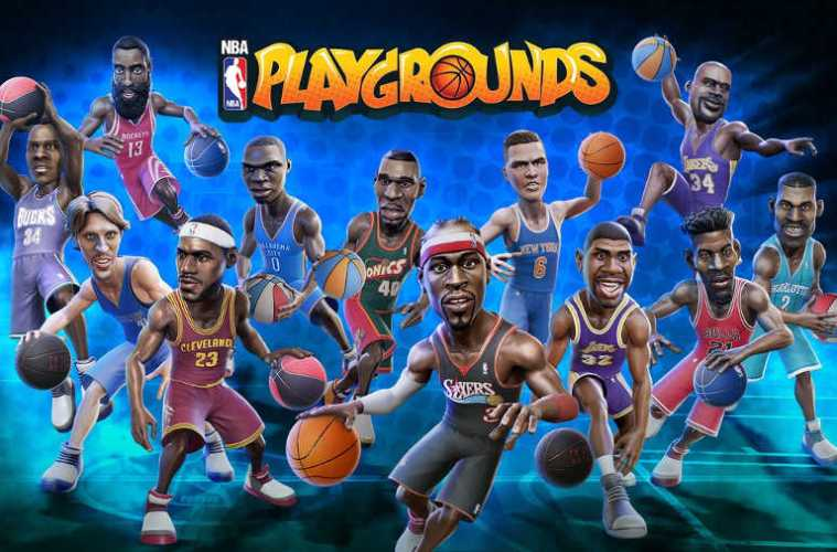 actualización de NBA Playgrounds para Nintendo Switch