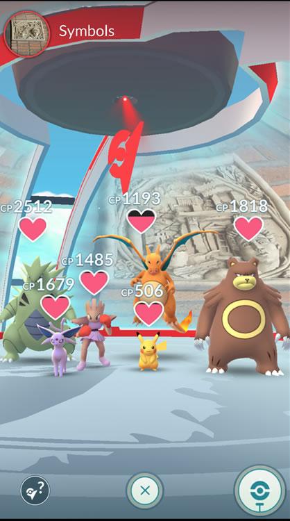 cambios en los gimnasios de pokemon go