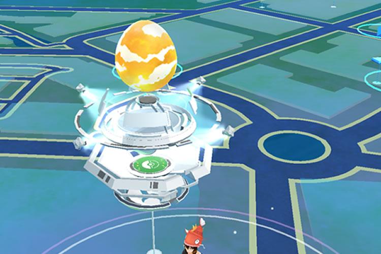 cambios en los gimnasios de pokemon go huevo