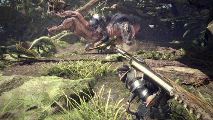 gameplay multijugador de Monster Hunter World