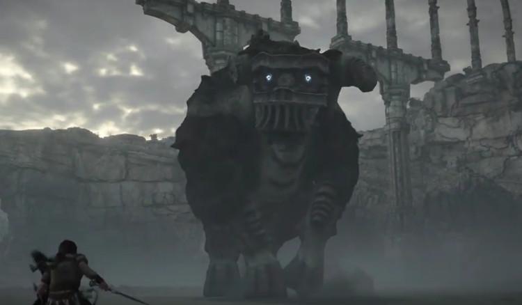 trailer del remake de shadow of the colossus