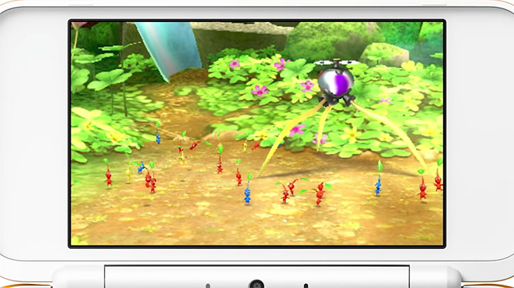 vídeo de introducción de Hey! Pikmin
