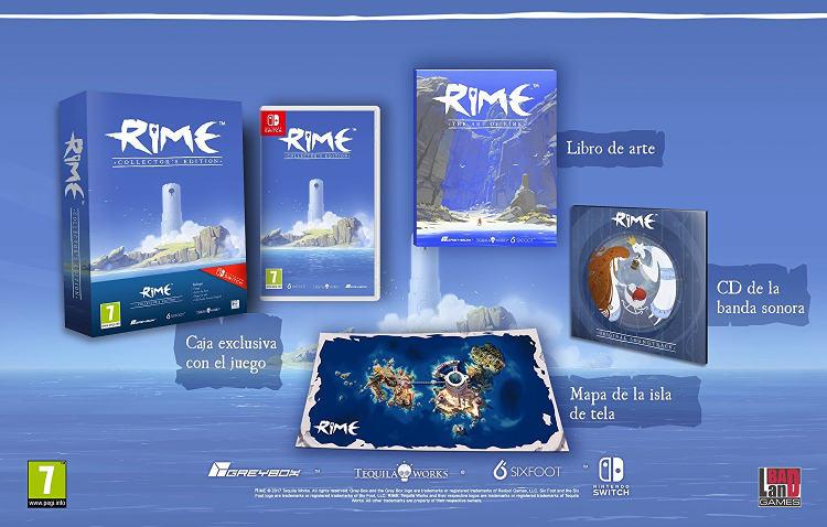 edición especial de RiME para Nintendo Switch