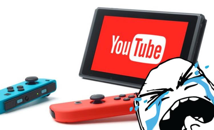 primera aplicación de vídeo de Nintendo Switch