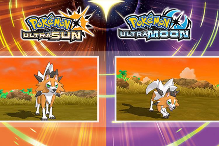 nueva forma de lycanroc para pokemon ultrasol y ultraluna