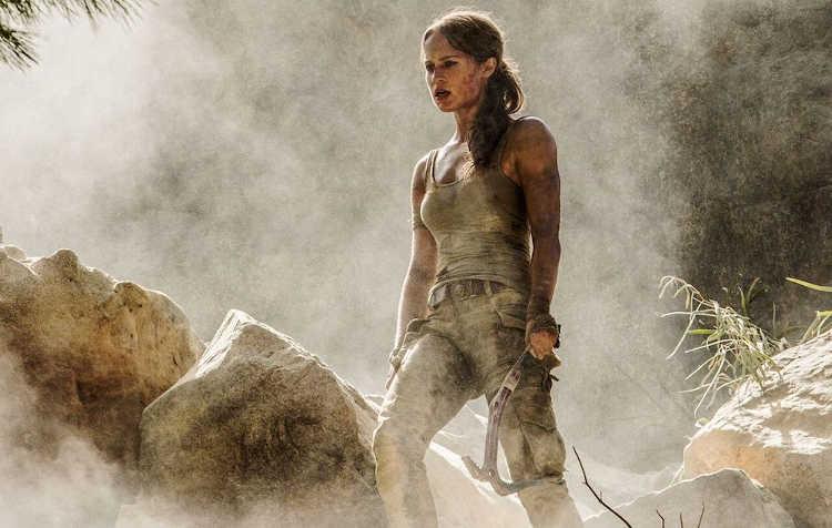 primer tráiler de la película de Tomb Raider