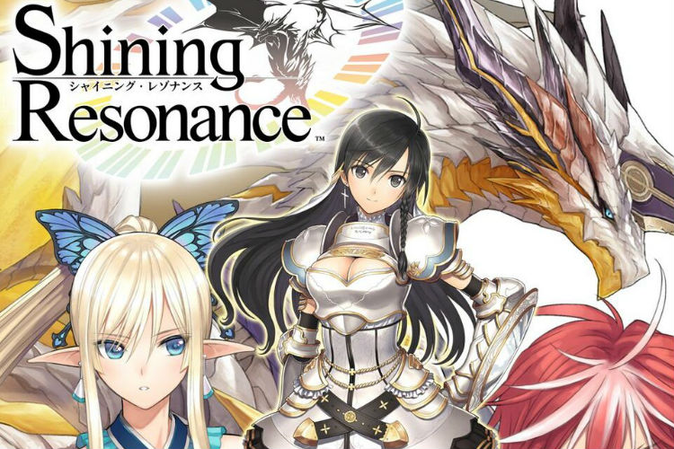 anuncio de shining resonance refrain