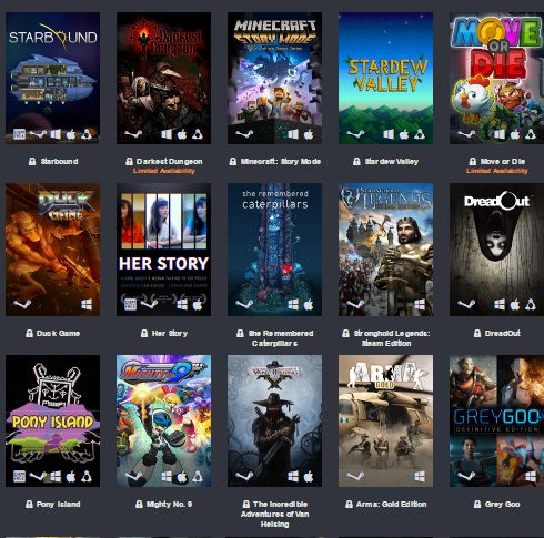 nuevo humble care package bundle