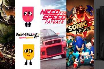 lanzamientos de videojuegos de la semana del 6 de noviembre de 2017