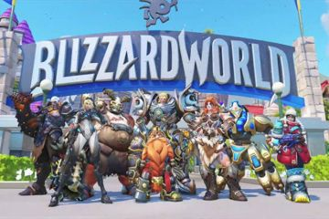 Mapa y skins de Blizzard World