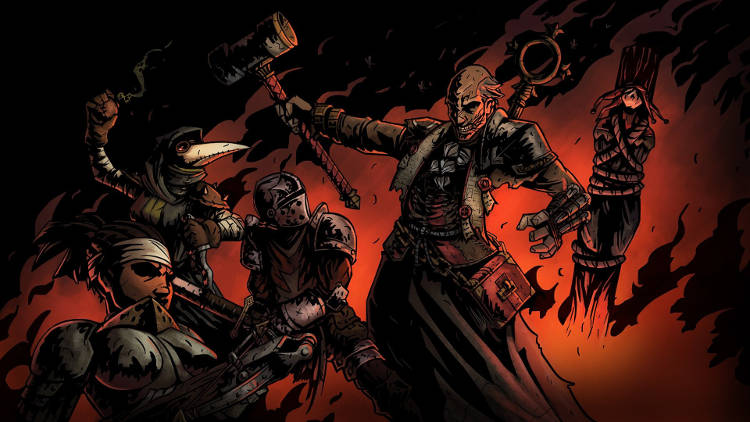 Edición física de Darkest Dungeon en Nintendo Switch
