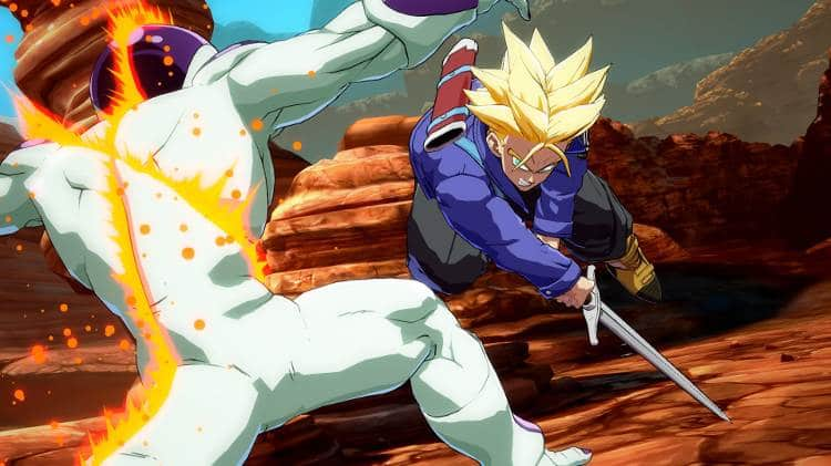 primer parche de Dragon Ball FighterZ