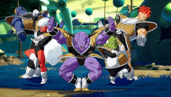 Disponible el modo Combate en Grupo de Dragon Ball FighterZ