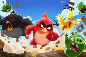 secuela de la pelicula de Angry Birds