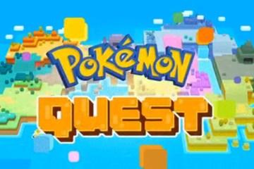 anuncio de pokemon quest