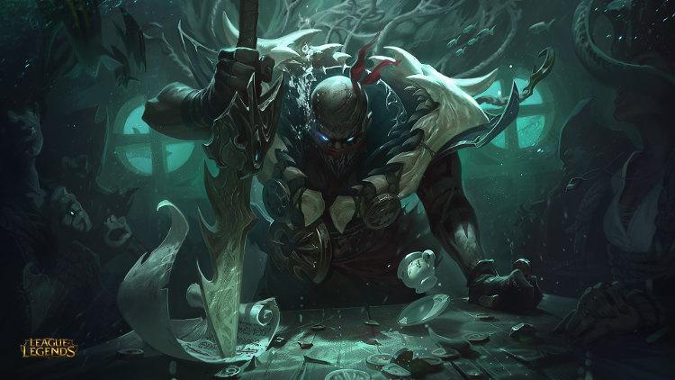detalles de pyke de league of legends