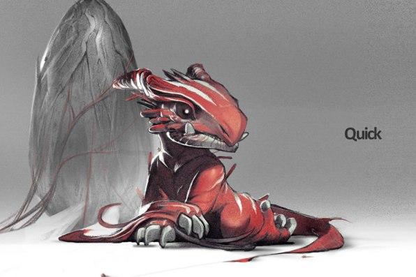 bocetos de los juegos que no saldrán de boss key productions drafonflies armas