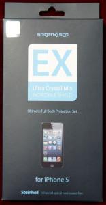 iPhone 5 Steinheil EX Ultra Crystal MIX 表面